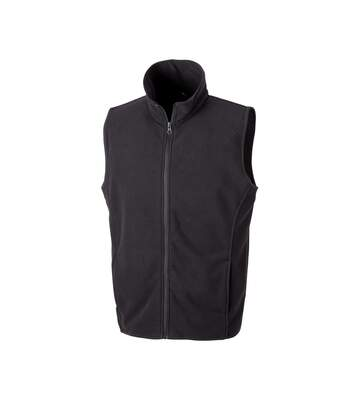 Result Core Mens Micro Fleece Gilet (Black) - UTPC3013