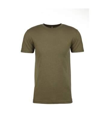 Next Level Adults Unisex CVC Crew Neck T-Shirt (Military Green) - UTPC3480