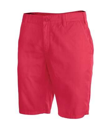 Kariban Mens Plain Summer Bermuda Shorts (Washed Red) - UTRW4214
