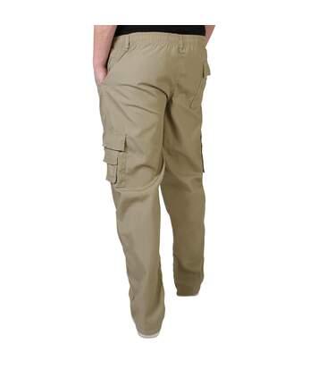 Krisp - Pantalon Cargo - Homme (Beige) - UTKP229