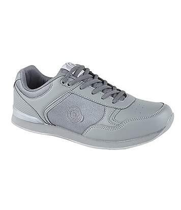 Dek Unisex Adults Jack Lace Up Trainer-Style Bowling Shoes (Grey) - UTDF949