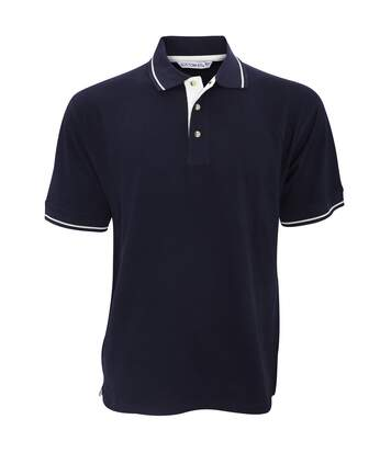 Kustom Kit Mens St. Mellion Mens Short Sleeve Polo Shirt (Navy/White) - UTBC615