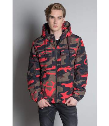Parka camouflage rouge HEYLO Camo Red