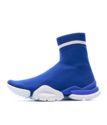 Baskets bleu homme/femme Reebok Sock Run_R
