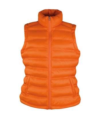 Result Ice Bird - Gilet Coupe-Vent Hydrofuge - Femme (Orange) - UTBC2725