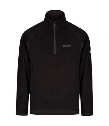 Regatta Great Outdoors Mens Montes Fleece Top (Black) - UTRG2131
