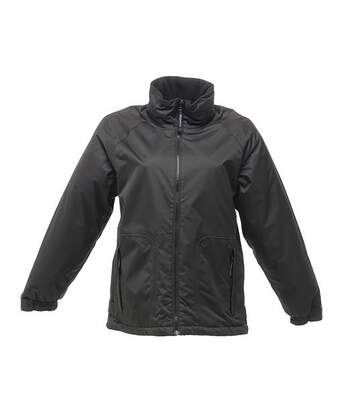 Regatta Great Outdoors Mens Waterproof Zip Up Jacket (Black) - UTRG1847