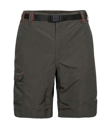 Trespass Mens Rathkenny Belted Shorts (Olive) - UTTP4695