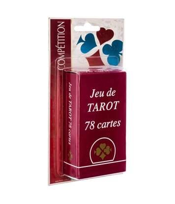 Jeu de Tarot 78 Cartes 11cm Rouge