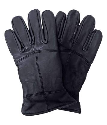 Mens 3M Thinsulate Thermal Leather Gloves M/L