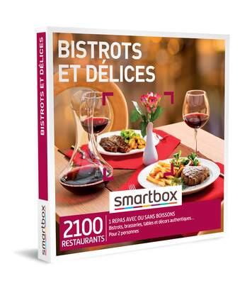 SMARTBOX - Bistrots et délices - Coffret Cadeau Gastronomie