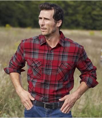 Фланелевая Рубашка в Клетку от Atlas For Men