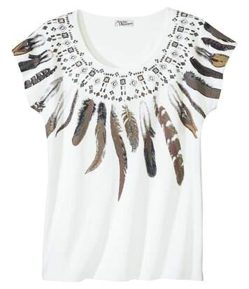 Tričko Collier de plumes