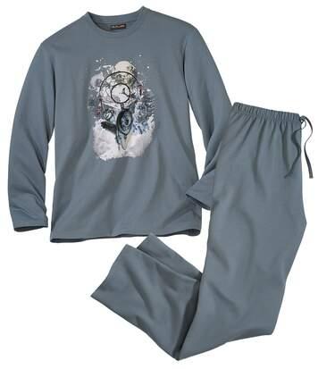 Pyjama mit schönem Motiv