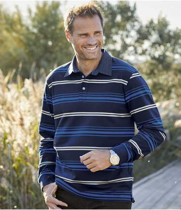 Športovo-elegantné polo tričko
