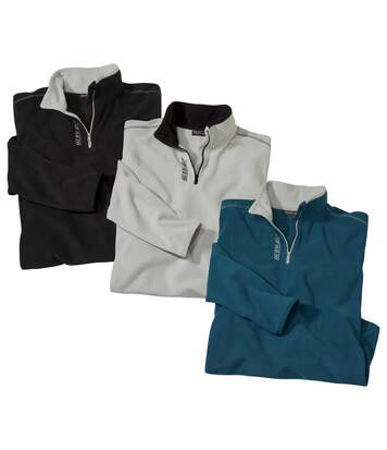 3er-Pack Microfleece-Pullover X-Trem by Atlas For