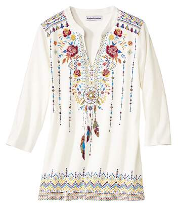 Tunéziai nyakú divatos tunika