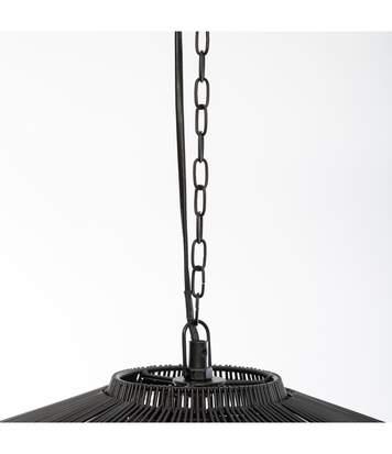 Atmosphera - Suspension Anor en métal noir  D 59 cm