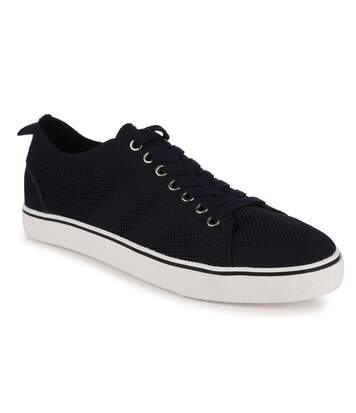 Regatta Great Outdoors Mens Knitted Trainers (Navy) - UTRG4733