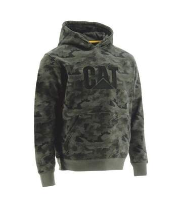 Caterpillar - Sweat À Capuche Trademark - Homme (Vert kaki) - UTFS4646