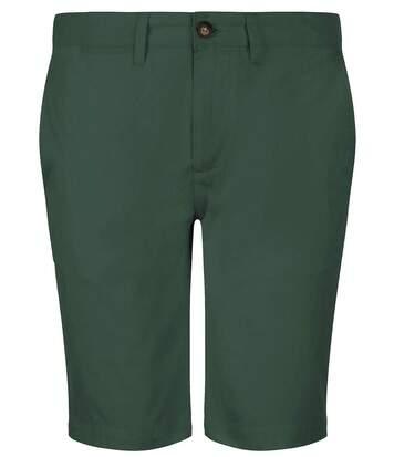 Bermuda chino - homme - 01659 - vert