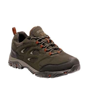 Regatta Mens Holcombe IEP Low Hiking Boots (Bayleaf/Burnt Umber) - UTRG3659