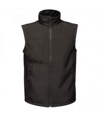 Regatta Mens Octagon 3 Layer Printable Softshell Bodywarmer (Black) - UTRG3565