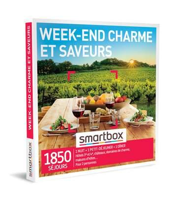 SMARTBOX - Week-end charme et saveurs - Coffret Cadeau Séjour