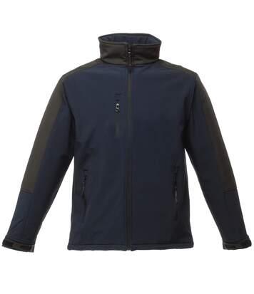Regatta Mens Hydroforce 3-Layer Softshell Jacket (Wind Resistant, Water Repellent & Breathable) (Black/Black) - UTRW1215