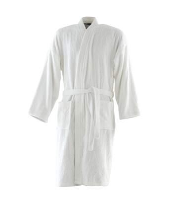 Towel City - Peignoir De Bain 100% Coton (Blanc) - UTRW1580