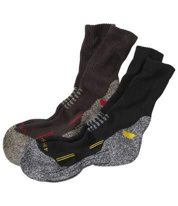 Sada 2 párů turistických ponožek Team Trek