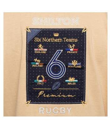 Polo rugby 6 nations manches longues