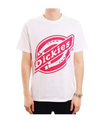 T-Shirt Blanc Homme Dickies JOHNSON CITY
