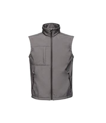 Regatta Mens Octagon II Printable Soft Shell Bodywarmer (Seal Grey/Black) - UTPC3297