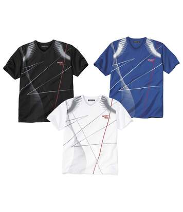 Lot de 3 Tee-Shirts Sport Tech