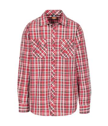 Trespass Mens Collector Check Shirt (Red Check) - UTTP4291