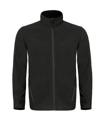 B&C Mens Coolstar Ultra Light Full Zip Fleece Top (Black) - UTRW3033