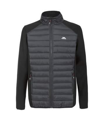 Trespass Mens Saunter Full Zip Fleece Jacket (Black) - UTTP3564
