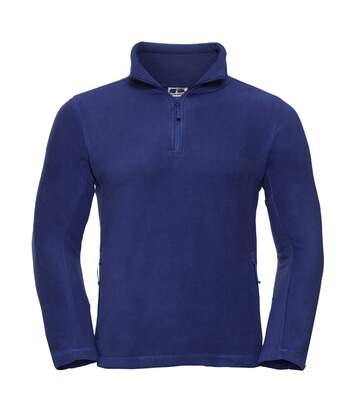 Russell Mens 1/4 Zip Outdoor Fleece Top (Bright Royal) - UTBC1438
