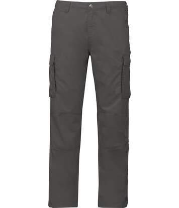 Pantalon léger multipoches pour homme - K745 - gris