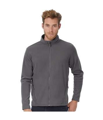 B&C Mens Coolstar Ultra Light Full Zip Fleece Top (Steel Grey) - UTRW3033