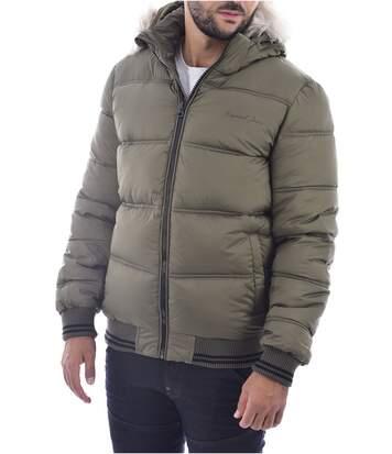 Doudoune à capuche amovible  -  Kaporal - Homme