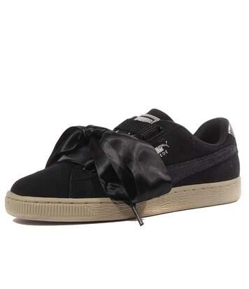 Heart Safari Wn's Femme Chaussures Noir Puma