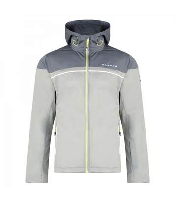 Dare2B Mens Amnesty Softshell Jacket (Light Grey/Granite Grey) - UTRG3590