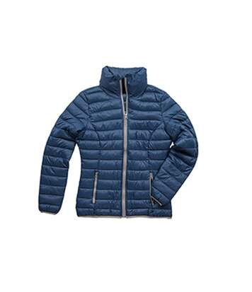 Stedman Womens/Ladies Active Padded Jacket (Dark Blue) - UTAB313