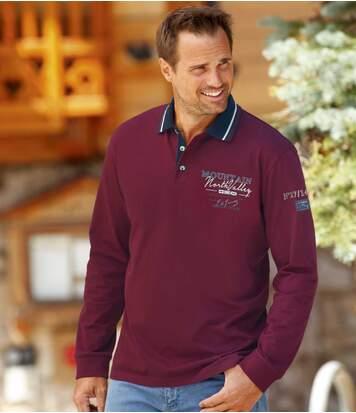 Men's Winter Cup Long Sleeve Polo Shirt
