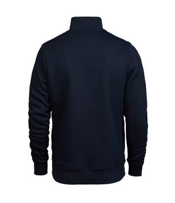 Tee Jays Mens Half Zip Sweatshirt (Navy) - UTPC4095