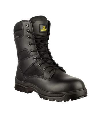 Amblers Combat Boot / Mens Boots (Black) - UTFS1709