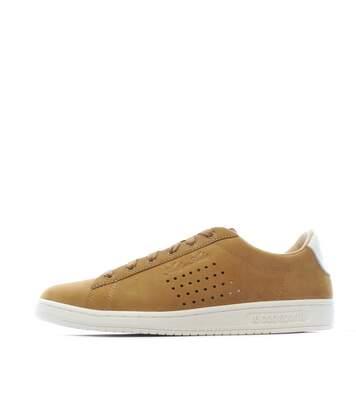 Chaussures marrons hommes Le Coq Sportif Arthur Ashe