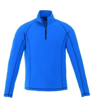 Polaire 1/4 zip Bleu Homme Elevate Bowlen